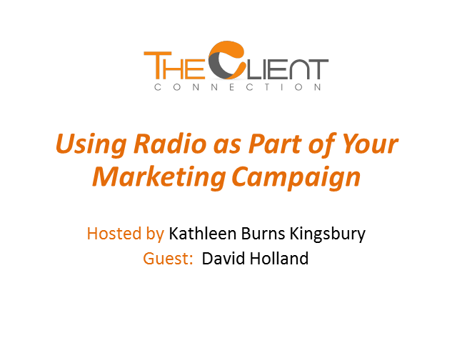 Using Radio as Part of Your Marketing Campaign
