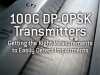 100G DP-QPSK Transmitters-Getting the Right Info to Easily Detect Impairments