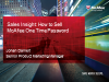 Sales Essentials:  How to Sell One Time Password