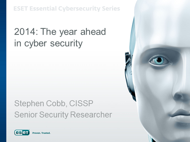 2014: The year ahead in cyber security