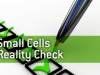 Small Cells Reality Check