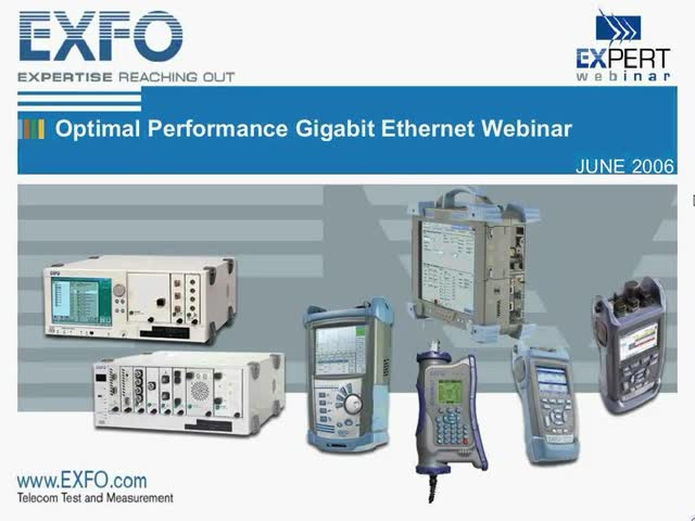An Essential Gigabit Ethernet Webinar