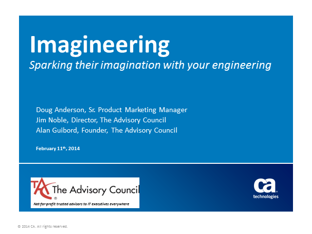 Imagineering: A Savvy Look at the Possibilities in Your Strategic Plans (1 PMI P