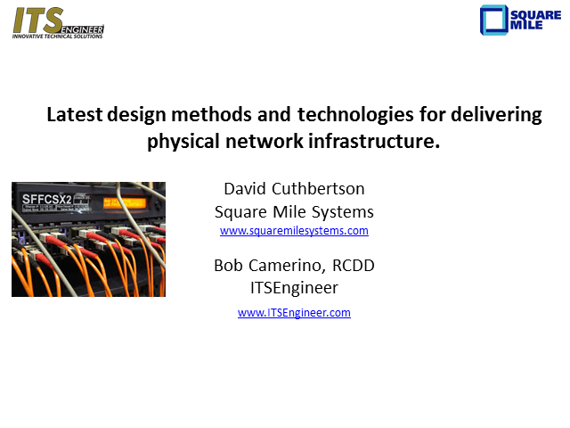 Physical Network Infrastructure: The Latest Methods and Technologies