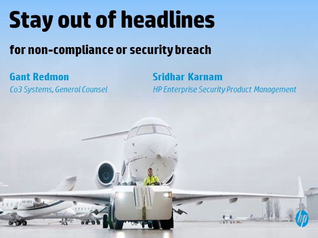 Stay out of the headlines for breaches / non-compliance with security analytics