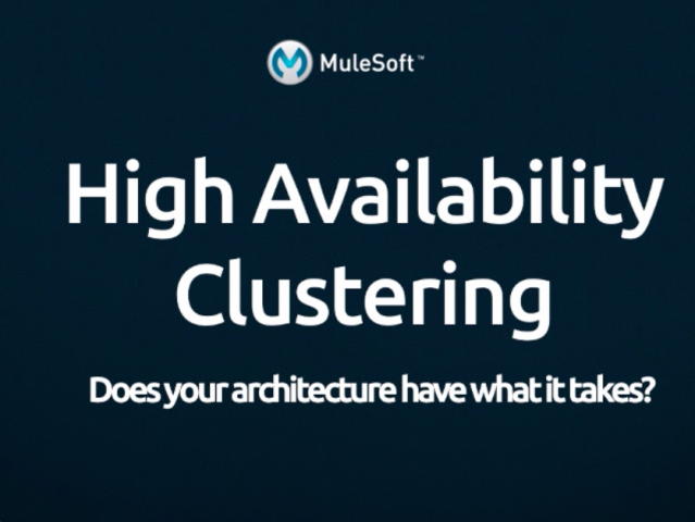Demo: MuleSoft High Availability