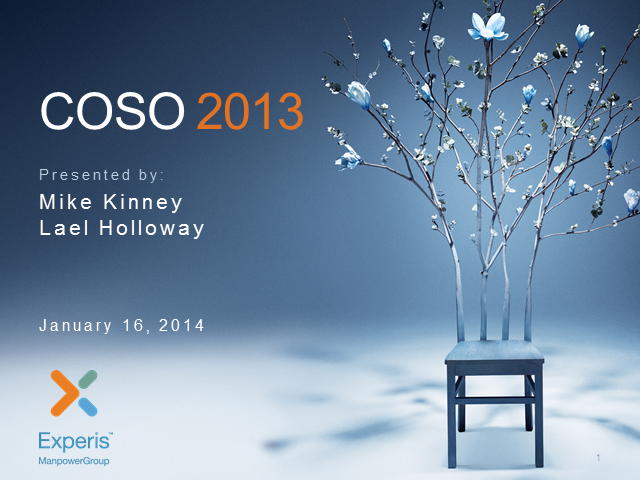 COSO 2013: What your organization should do to ensure compliance