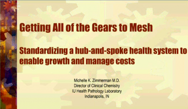 Standardizing a hub-and-spoke health system to enable growth and manage costs