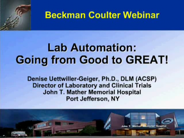Lab Automation: Going from Good to Great