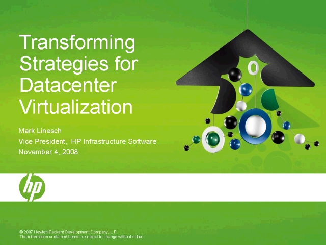 Transforming Strategies for Datacenter Virtualization