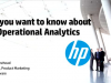 All you want to know about IT Operational Analytics