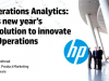 Operations Analytics: IT's new year resolution to innovate IT Operations
