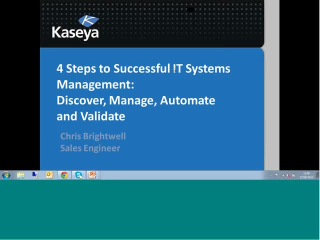 4 Steps to Successful IT Systems Management: Discover, Manage, Automate and Vali