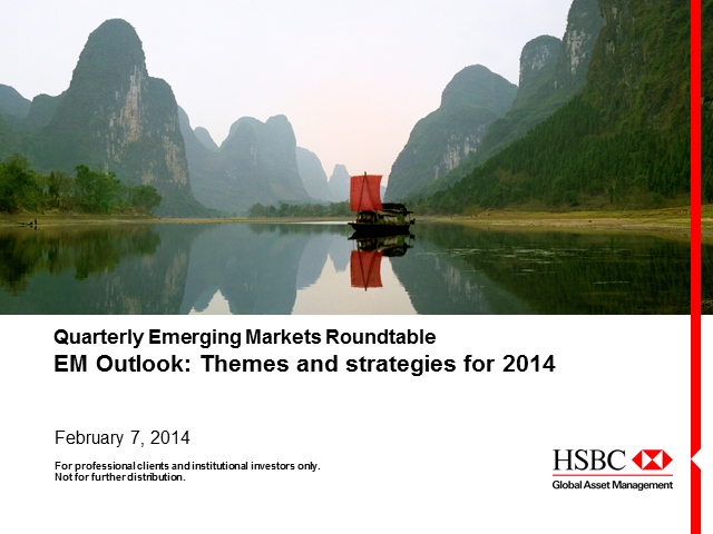 EM Outlook: Themes & Strategies for 2014