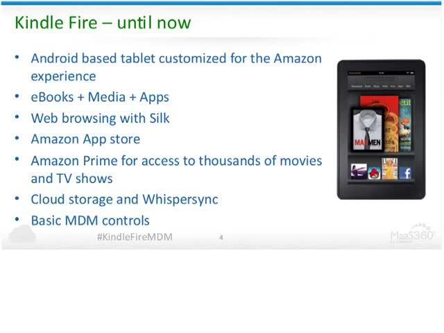 Kindle Fire in the Workplace - New Enterprise Features!