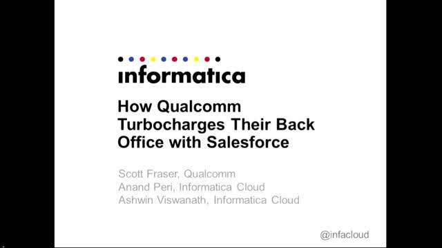 How Qualcomm Turbocharges Their Back-Office with Salesforce Integration