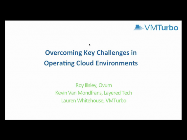 Overcoming Challenges in Operating Cloud Environments