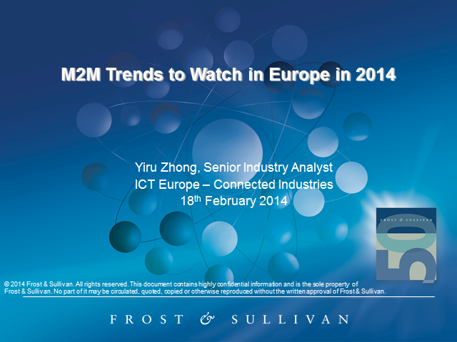 Looking Ahead to 2014: M2M Trends to Watch in Europe