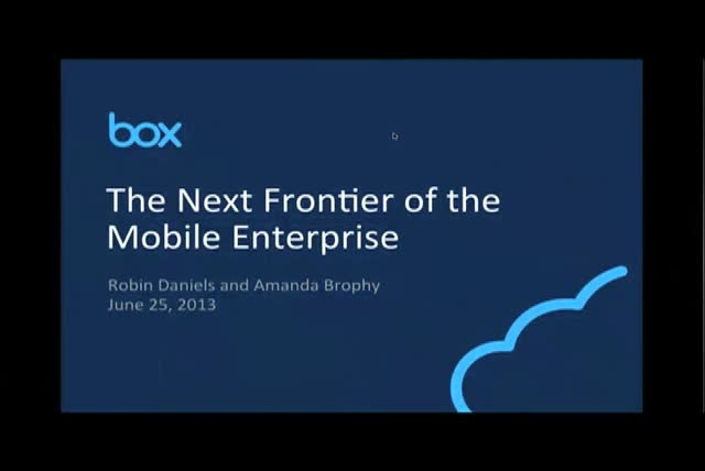 The Next Frontier for the Mobile Enterprise