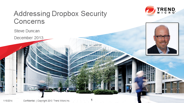 Addressing Dropbox Security Concerns
