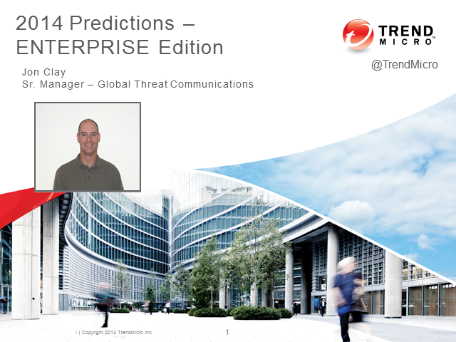 Threat Predictions 2014 - Enterprise Edition