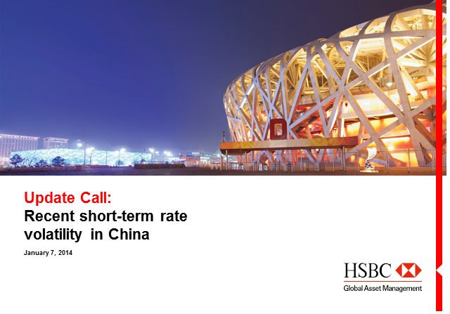 Recent short-term rate volatility in China