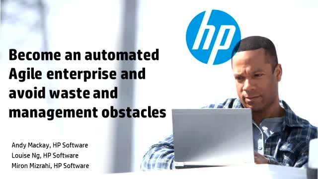 Become an automated, agile enterprise and avoid waste and management obstacles