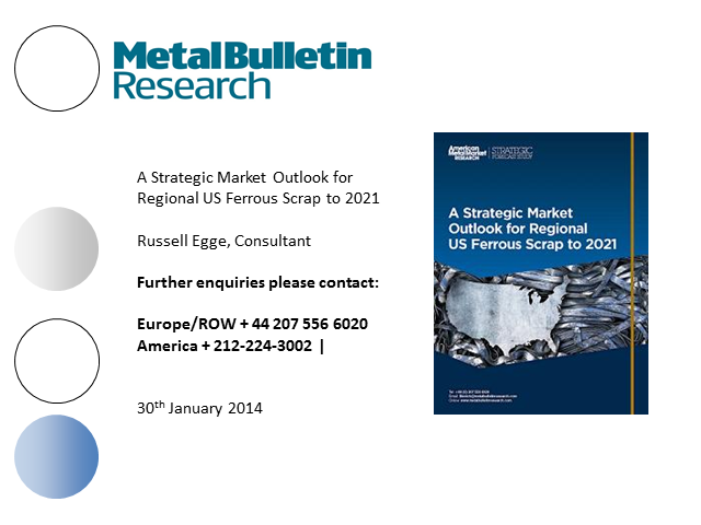 A Strategic Market Outlook for Regional US Ferrous Scrap to 2021