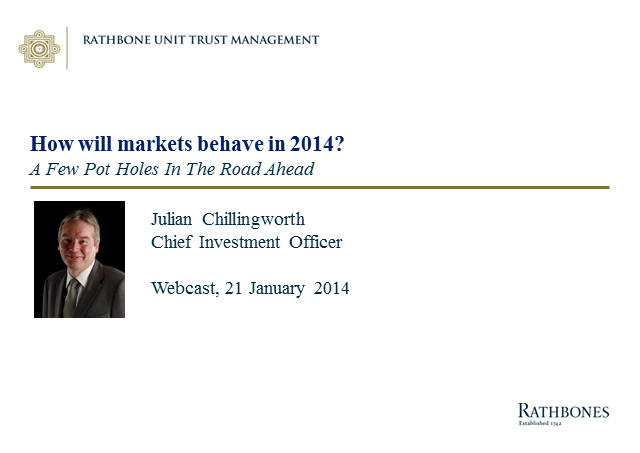 How will markets behave in 2014?