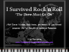 I Survived Rock'n'Roll: Security Incident Escalation and Response