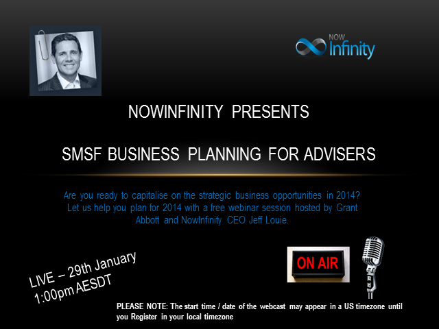 SMSF Business Planning for Advisers (for non NowInfinity Members)