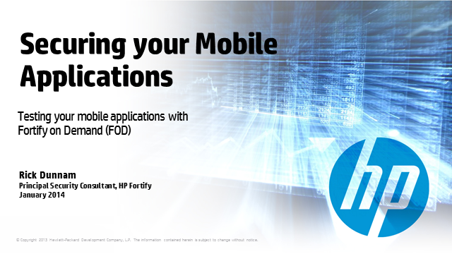 How can You Secure Your Mobile Applications?