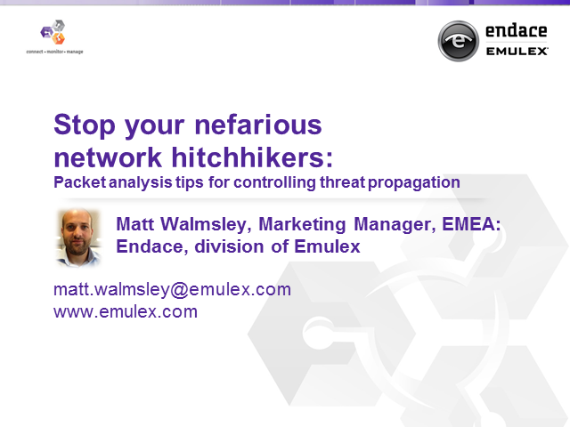 Stop Nefarious Network Hitchhikers: Controlling Threat Propagation