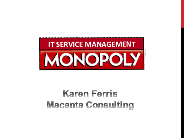 IT service management Monopoly - Don't Make Tool Selection a Game of Chance