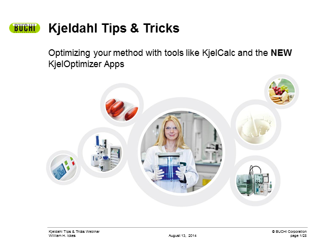 Kjeldahl advanced tips and tricks