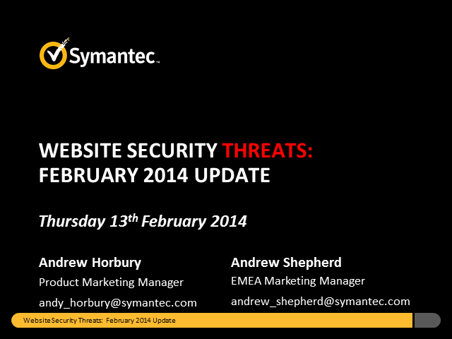 Website Security Threats: February Update