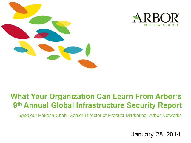 What Your Organization Can Learn From A Global Infrastructure Security Report