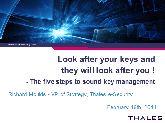 Look after your keys and they will look after you - The five steps to sound key