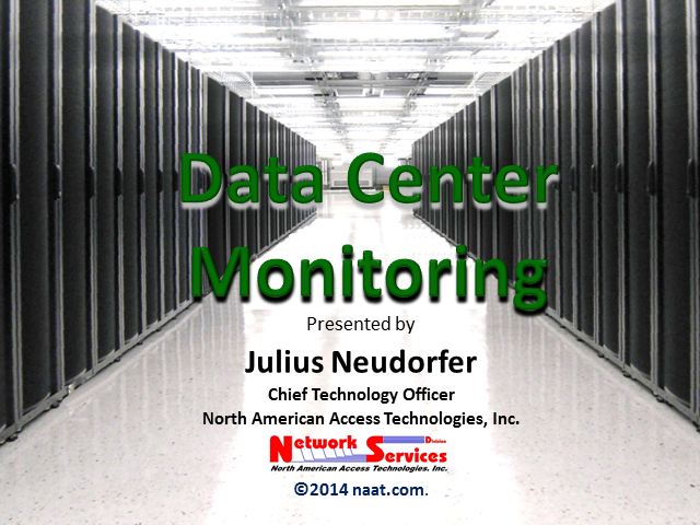 Data Center Monitoring – You Cannot Manage What You Cannot Measure