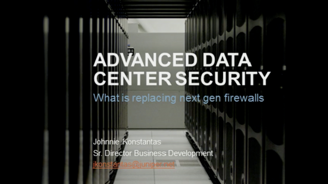 Advanced Data Center Security and What Is Replacing Next-Gen Firewalls
