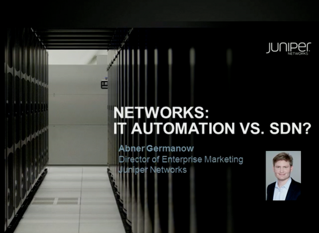 SDN vs. Network Automation – What Questions Should You Be Asking?
