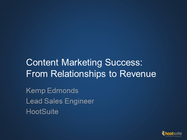 Content Marketing Success: From Relationships to Revenue