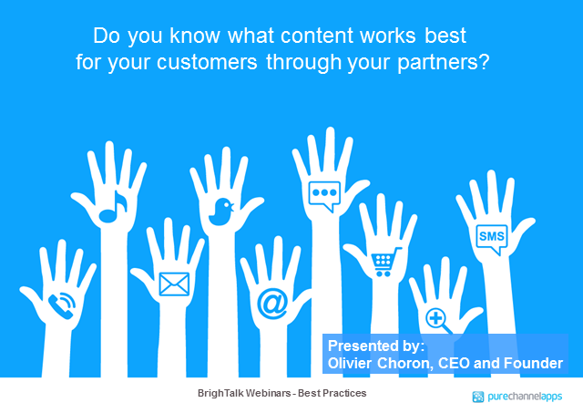 What social content do partners want to drive customer engagement?