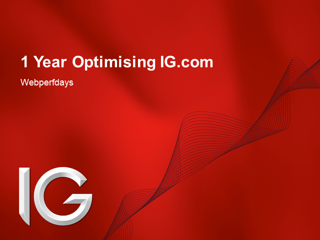 1 year optimising ig.com