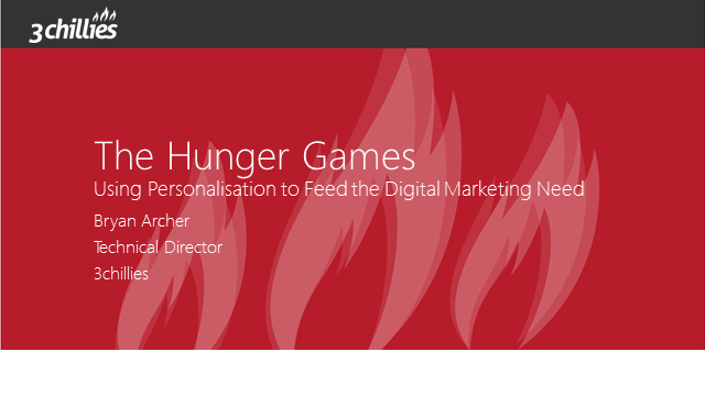 The Hunger Games – Using Personalisation to Feed the Digital Marketing Need