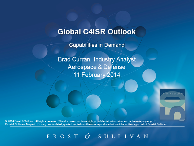 Global C4ISR Market Offers International Opportunities
