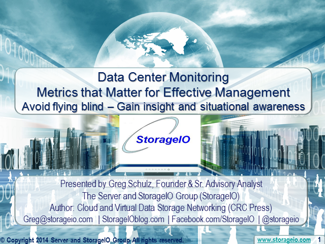 Data Center Monitoring - Metrics that Matter for Effective Management