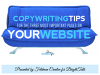 Copywriting Tips for the Three Most Important Pages on Your Website