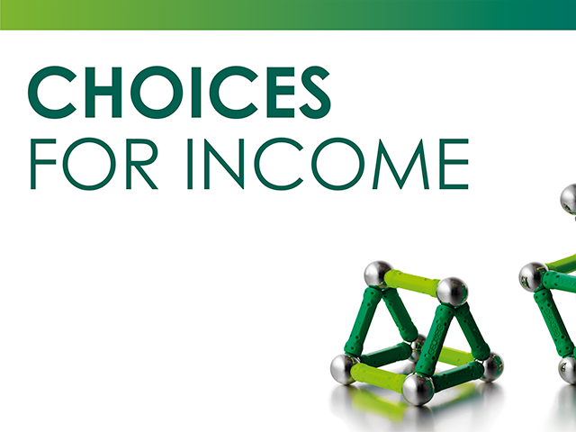 Choices for Income