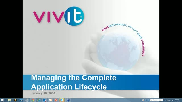 Managing The Complete Application Lifecycle